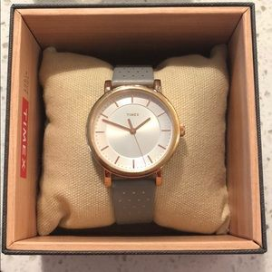 Timex Grey/ Rose Gold Watch- NEW